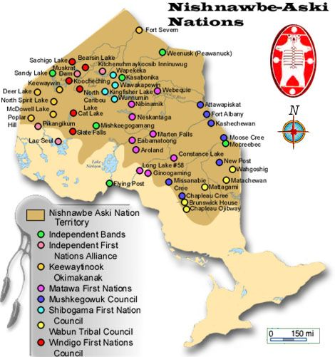 First Nations in Northwestern Ontario